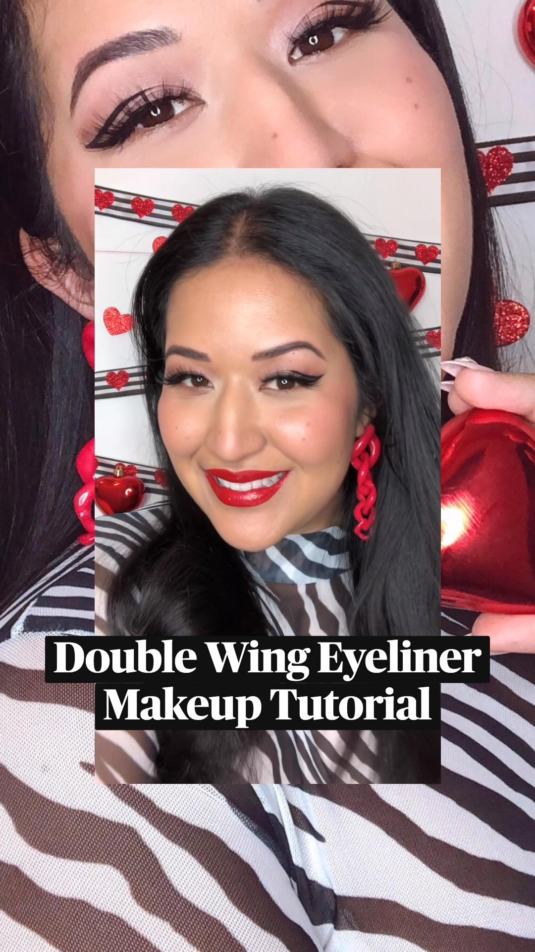 Double Winged EyelinerMakeup Tutorial