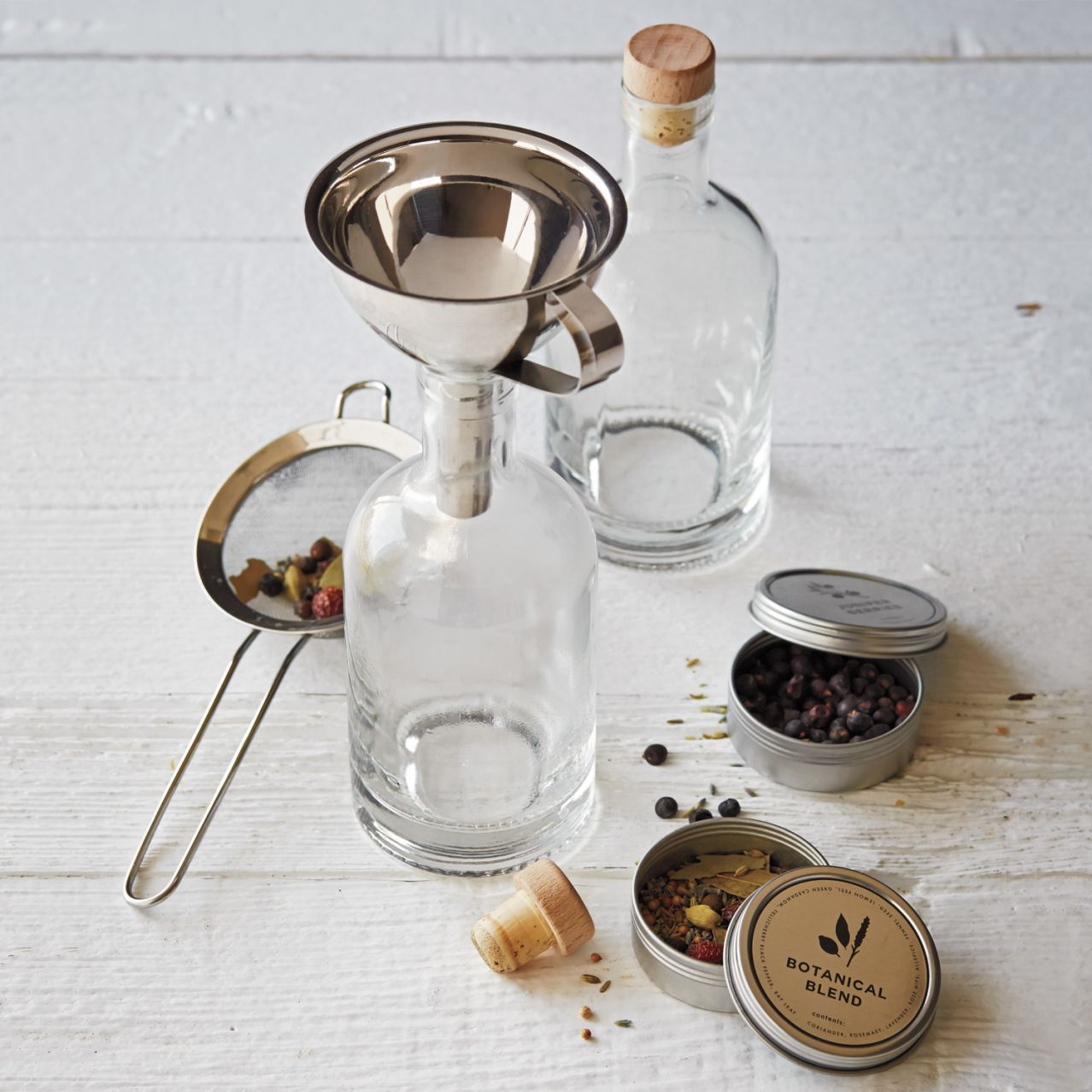 The Homemade Gin Kit By Wu0026P Design | Sur La Table. Gift IdeasParty ...