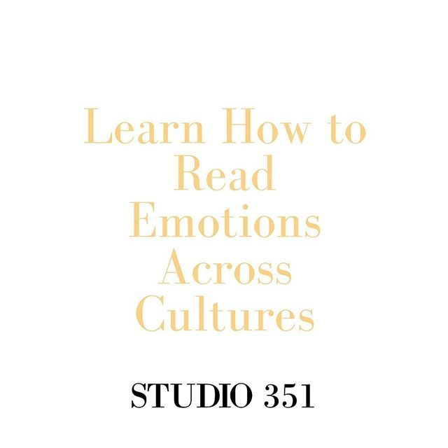 """#businesstips We learn to """"read"""" people's emotions by evaluating their facial expressions, tone of voice, and overall demeanor. But these things often don't translate across cultures. For example, someone from the U.S., where enthusiasm is admired, may have trouble reading someone from China, where self-control and modesty are the norm. It's important to understand how different cultures show emotion. Observe whether people express their emotions readily or downplay them–or whether it varies…"""