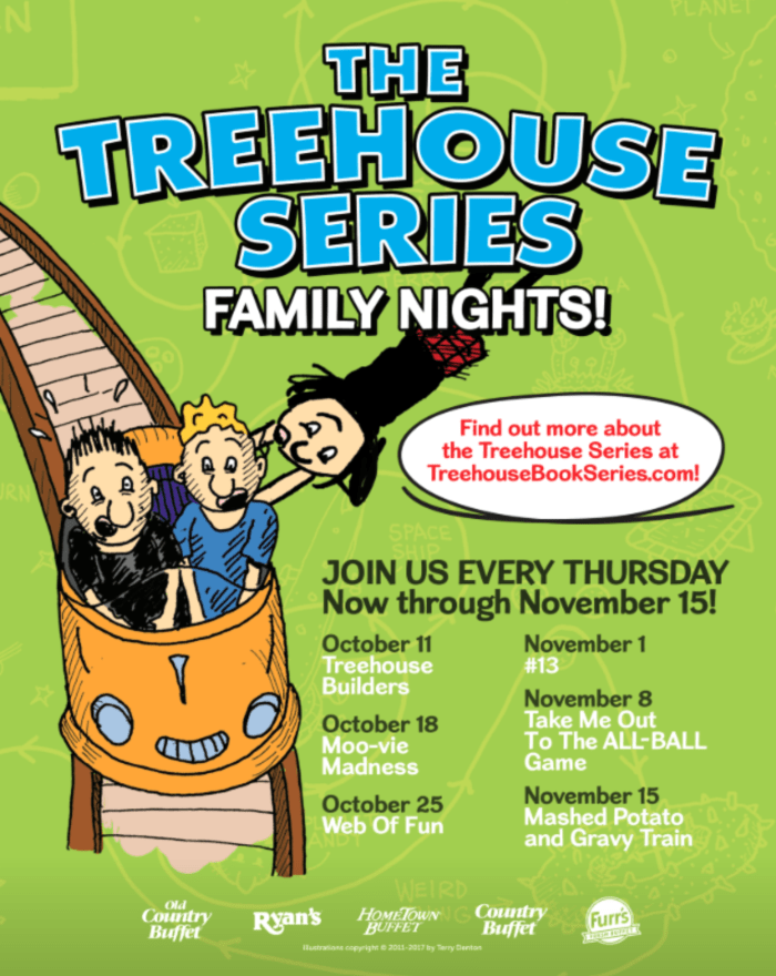 New Family Nights Featuring The Treehouse Book Series At