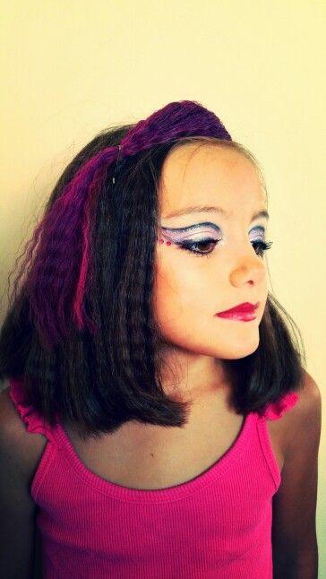 Maquillaje de escenario infantil