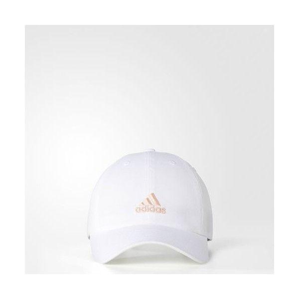 1e700d8375 adidas WOMEN'S SATURDAY CAP - White | adidas US ($18) ❤ liked on ...