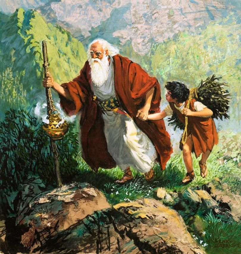 Ever Faithful Abraham trusted God in the matters of His beloved ...