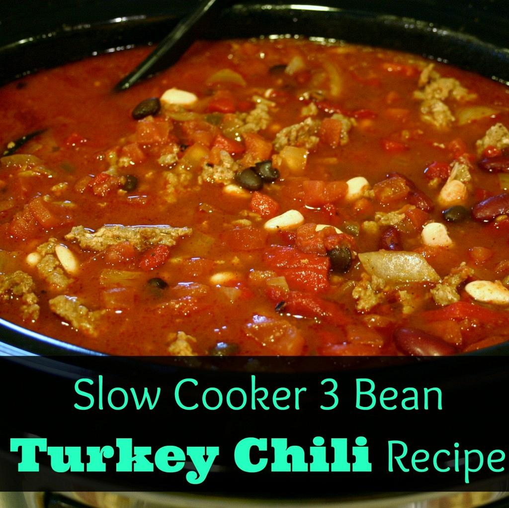 Easy & Healthy Dinner~ Three-Bean Turkey Chili Recipe & Review images