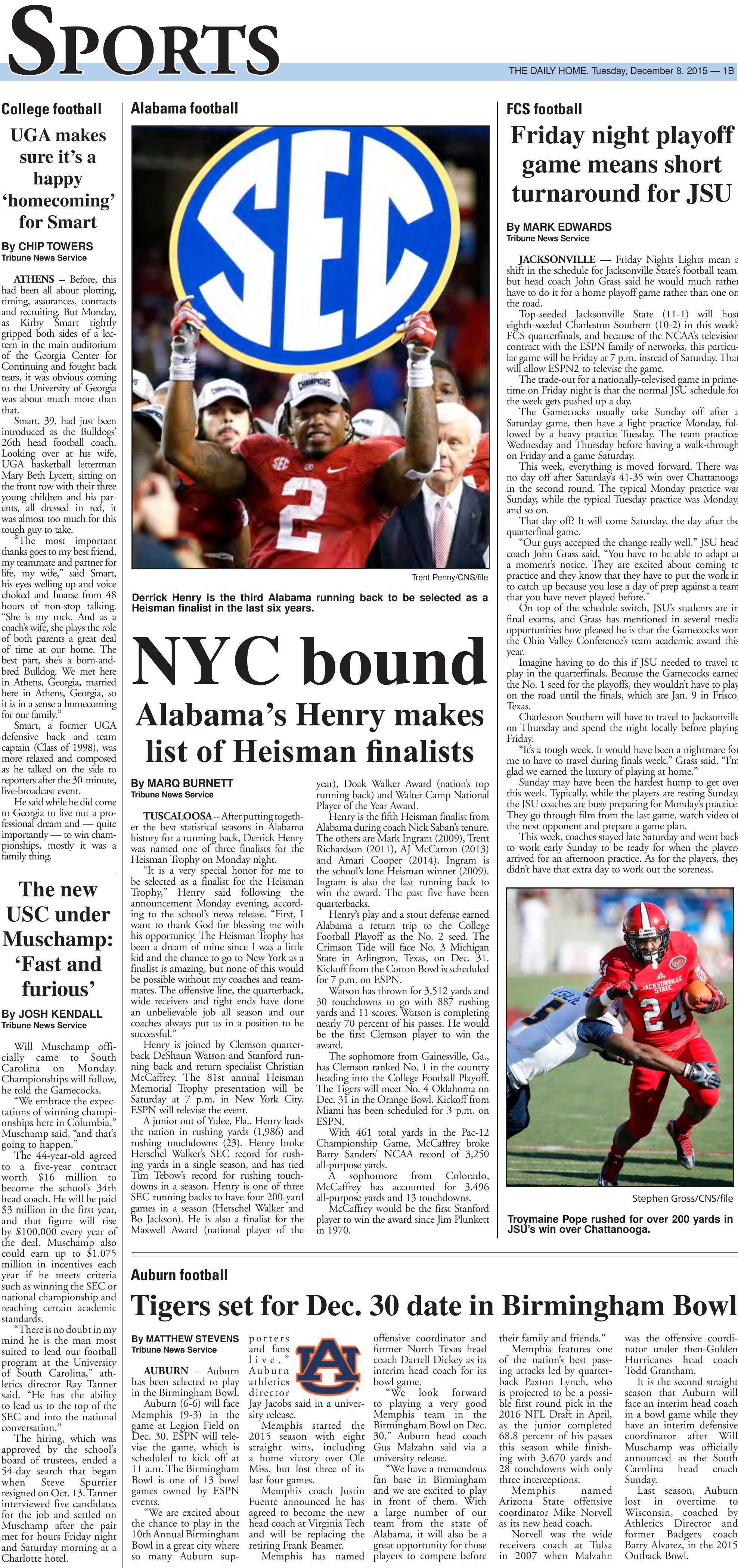 Page B01 - The Anniston Star: E-Edition
