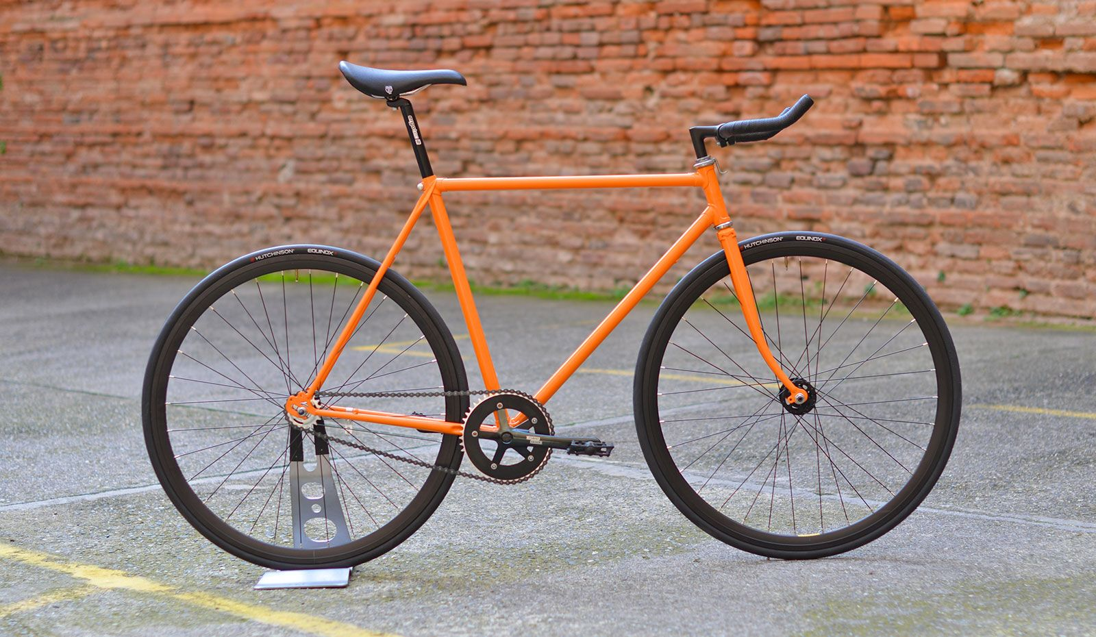 Fixie Bordeaux Fixie Orange Bordeaux Vélos Bikes Single Speed