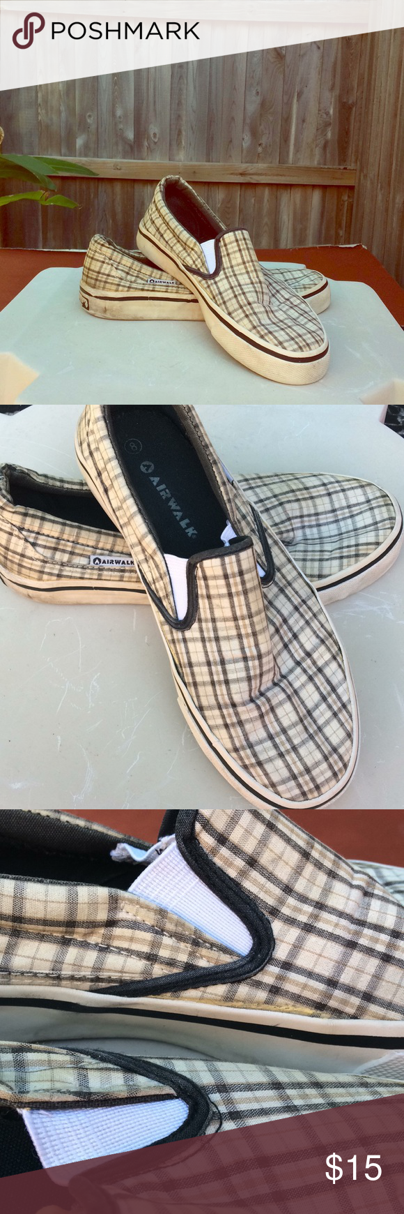 Plaid Airwalk Slip On Mens Shoes  Plaid Customer Support And