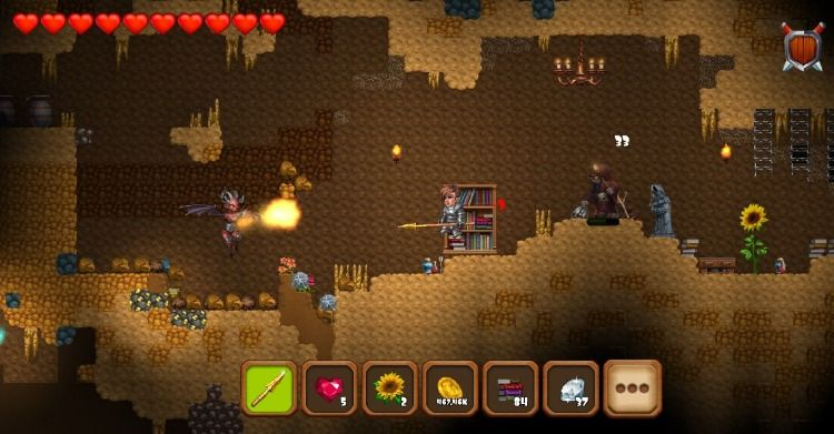 adventaria: 2D World of #Craft & #Mining Game is full of Mining