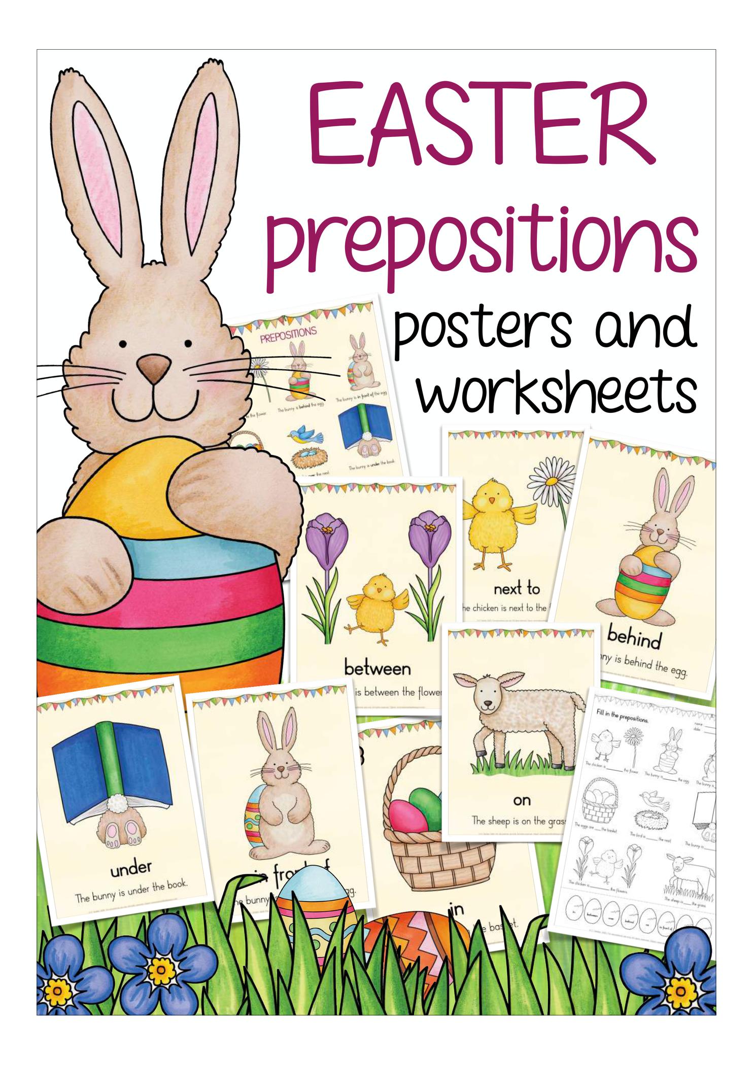 prepositions easter ostern  unterrichtsmaterial in den