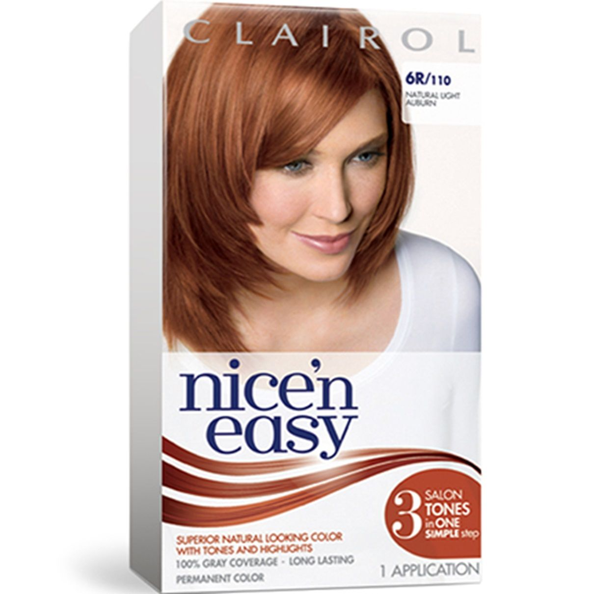 Permanent Red Hair Color Clairol Easy Hair Color Nice N Easy