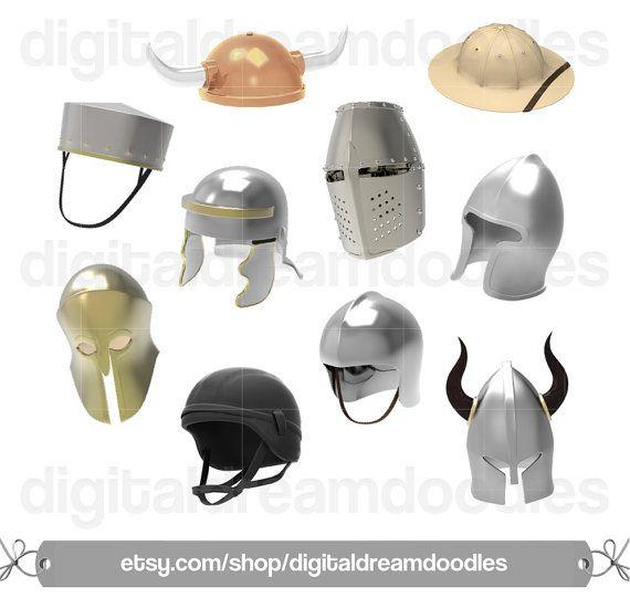 Armor Clipart, Helmet Clip Art, Viking Clipart, Templar Clipart ...