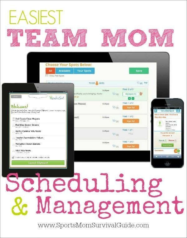 EASIEST Team Mom Scheduling and Management Mom schedule, Team mom - sample football score sheet
