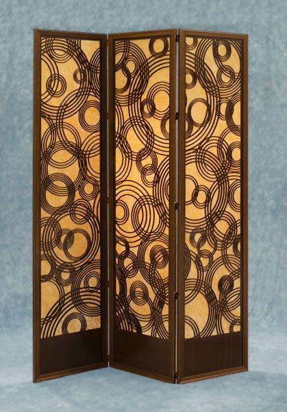 Wood Panel Floor Screen: Rain On Water From LightWave Laser