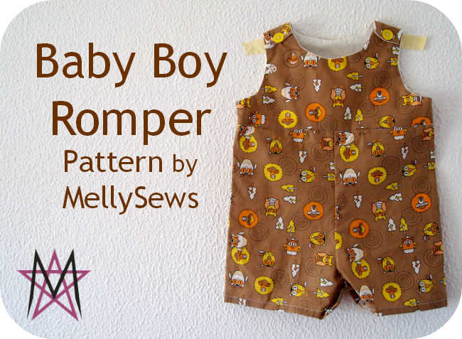 Baby Boy Romper #1 (House of Estrela)   Pinterest