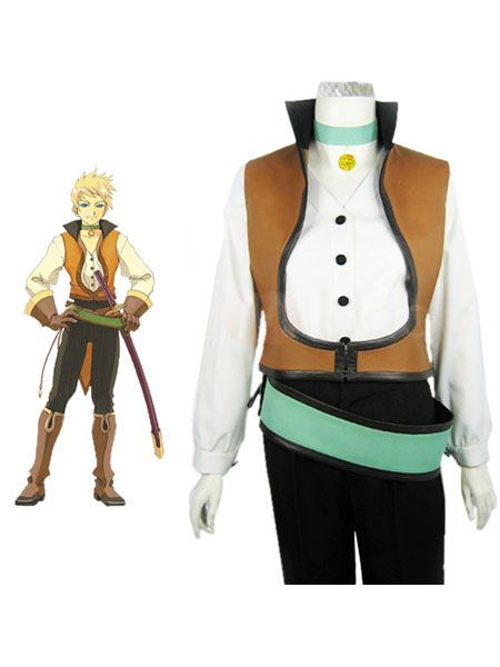 Tales of the Abyss Guy Cecil Halloween Costumes