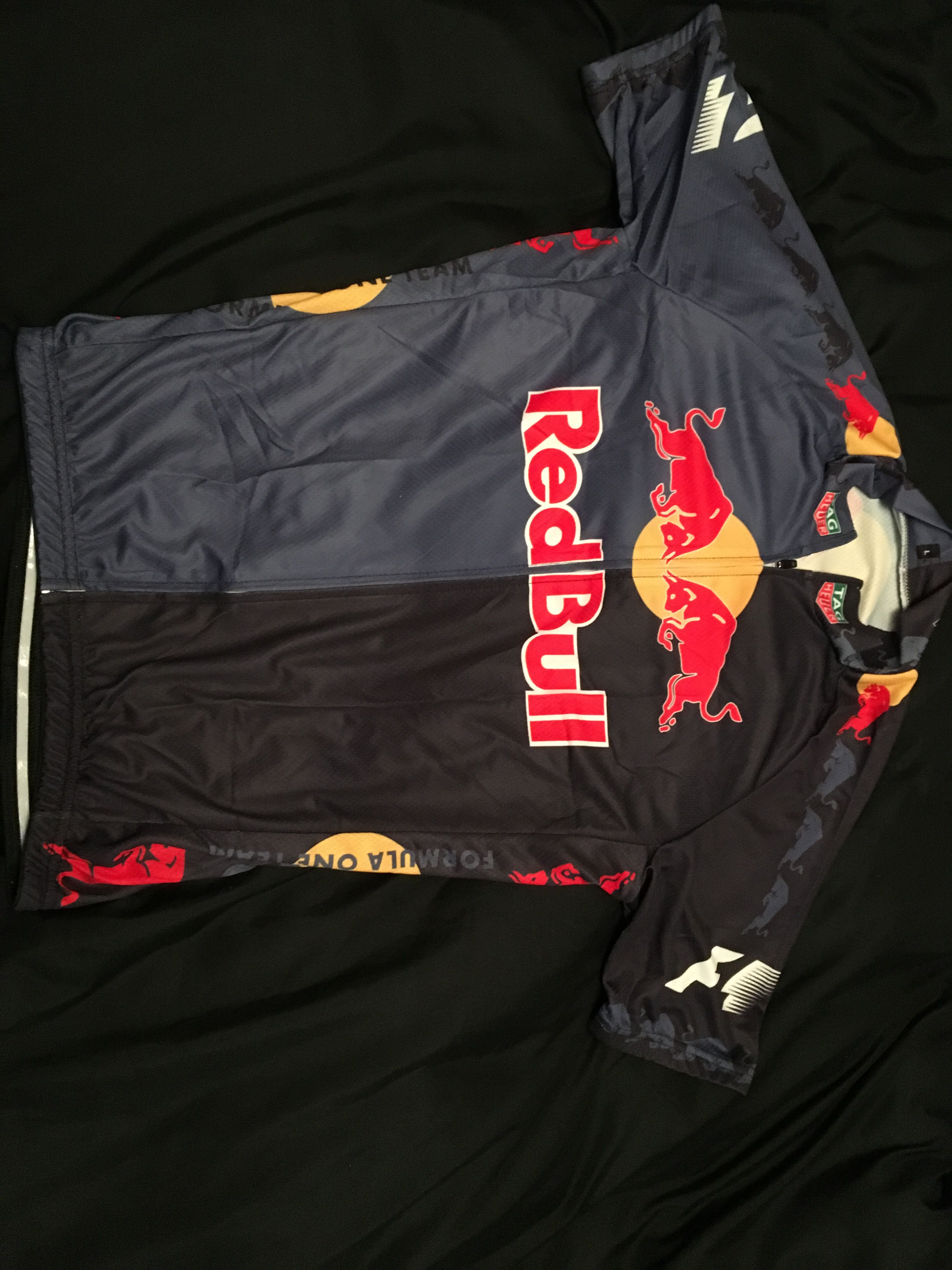 3a4fc8387 Custom Cycling Jersey   Front   Red Bull   Max Verstappen