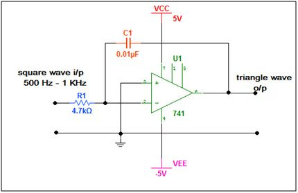 Magnificent Square Wave To Triangle Wave Converter Circuit Electronic Circuits Wiring Digital Resources Attrlexorcompassionincorg