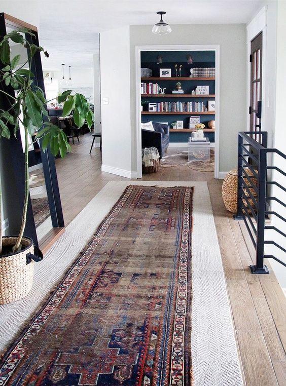 C mo decorar con alfombras de pasillo y dale calidez a tu hogar dise o de interiores - Alfombras pasillo modernas ...