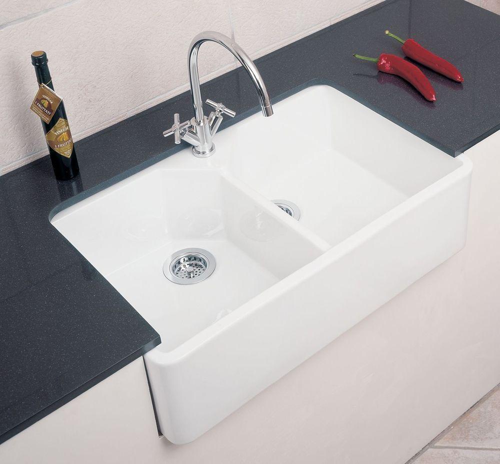 Rangemaster/ RAK Double Belfast kitchen Sink - FREE DELIVERY ...