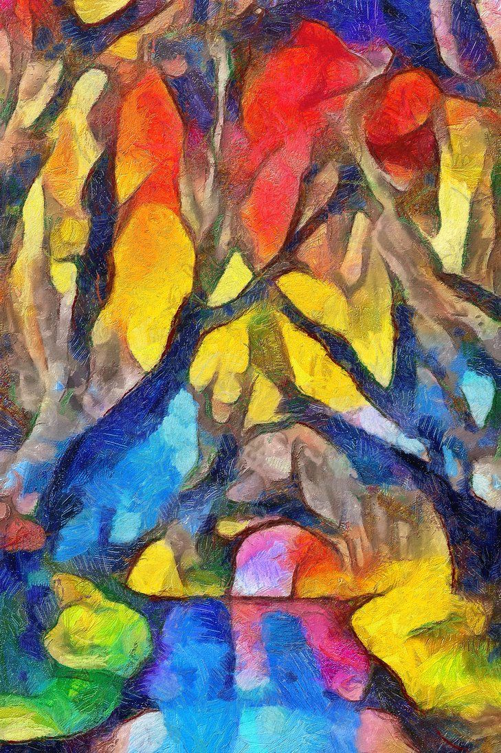 170927b1 DeepDream12 DAP Gogh2HD by MadFractalist | Color Me Happy
