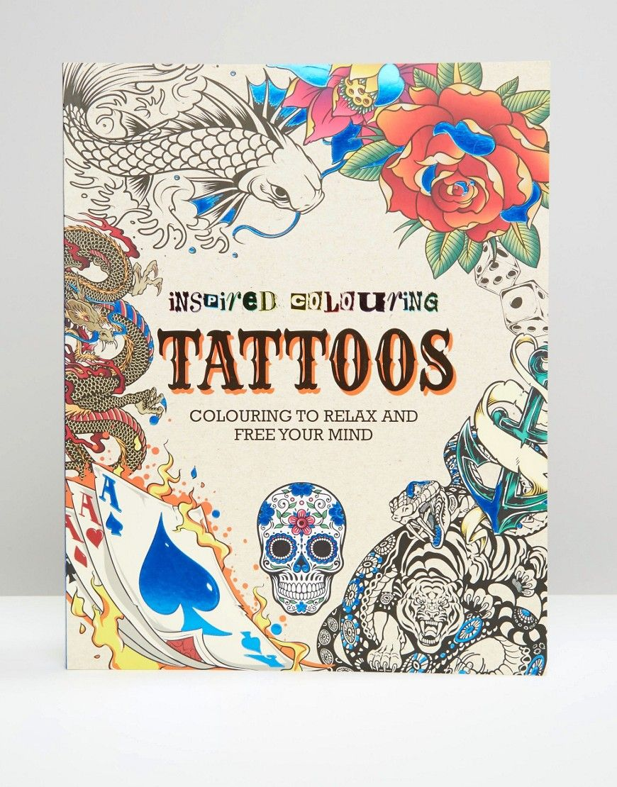 Inspired Colouring Tattoos Book