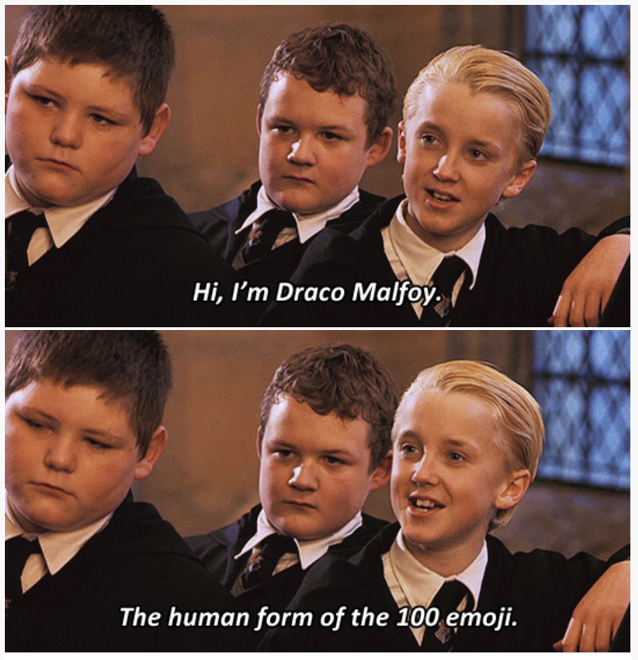 Someone Combined Harry Potter With Brooklyn Nine Nine Quotes And It S Amazing Harry Potter Jokes Harry Potter Draco Malfoy Draco Malfoy Funny