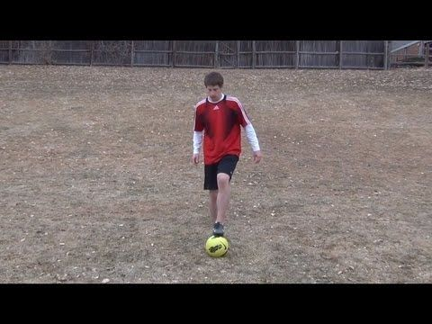 Soccer Drill for Ball Control - Toe Taps (aka Stair ...