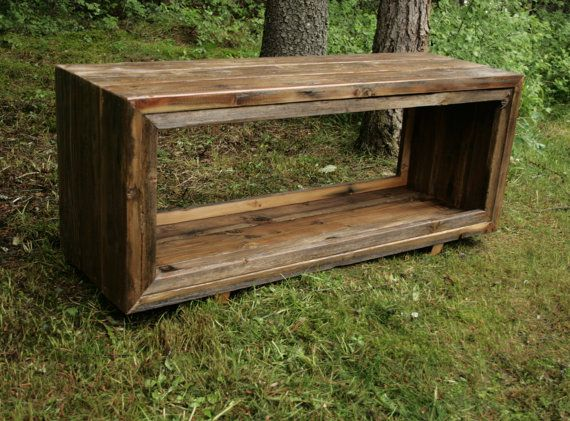 Enjoyable Etsy Rustic Reclaimed Barnwood Entry Bench By Machost Co Dining Chair Design Ideas Machostcouk