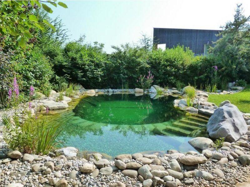 Schwimmteich Selber Bauen 13 Marchenhafte Gestaltungsideen Haus Dekoration Mehr Backyardpatiodesign Natural Swimming Ponds Swimming Pond Swimming Pool Pond