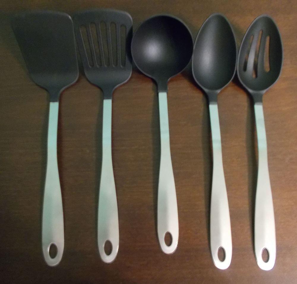 Kitchen Concepts Professional Grade 5 Piece Heat Resistant Nylon