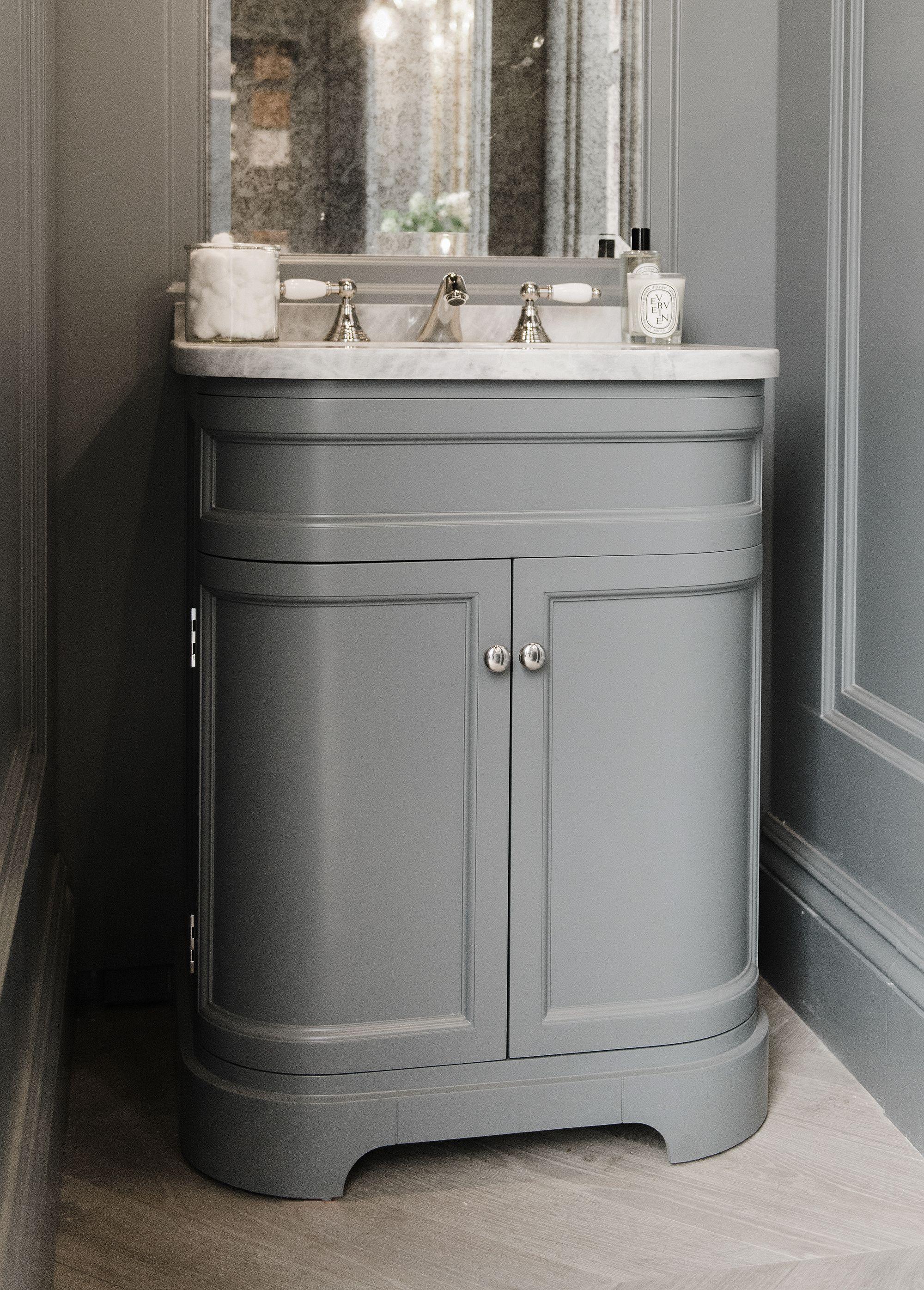 Berwick Vanity From Porter Vanities Liege Grey Marble Top With