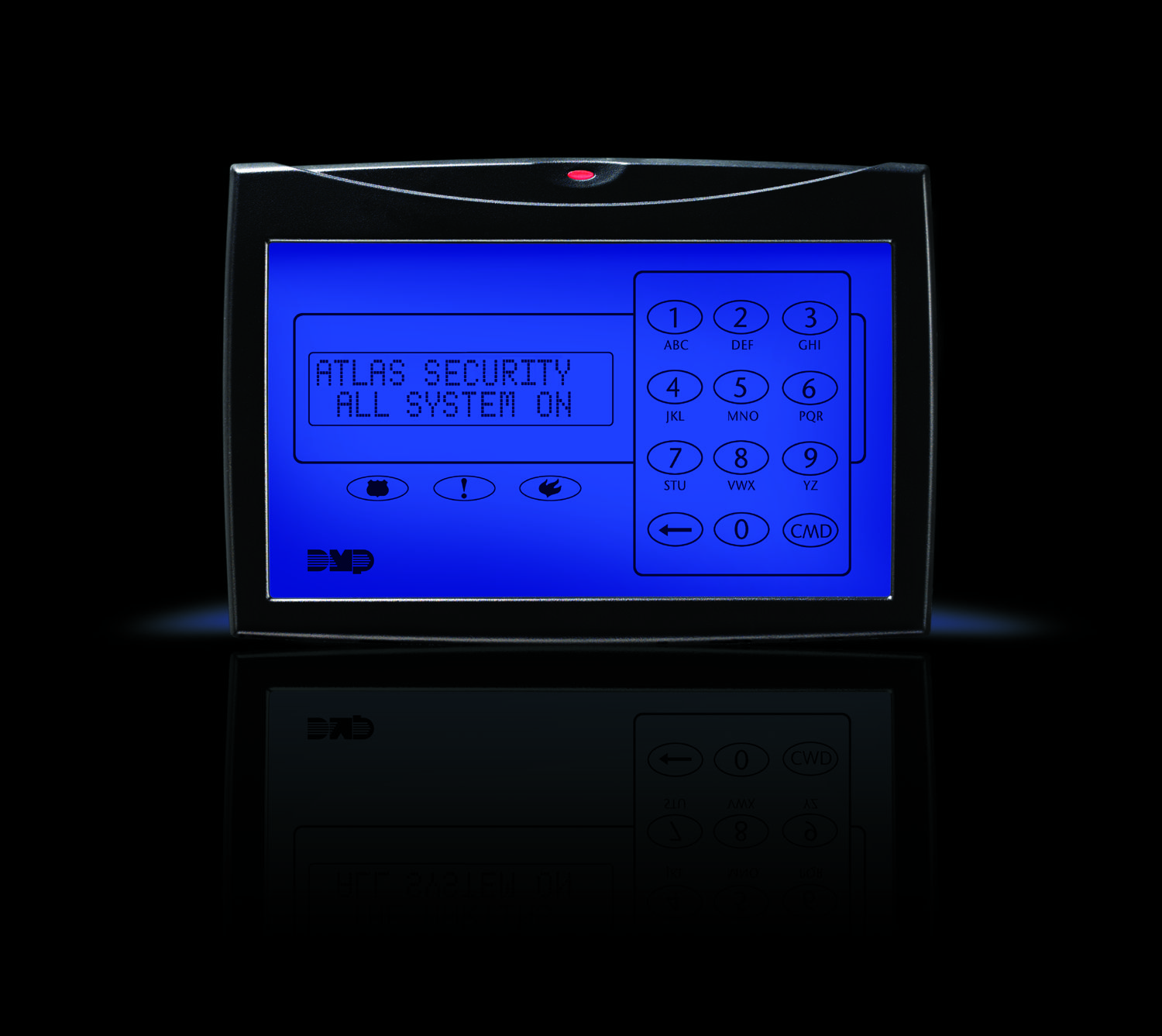 DMP Glass Keypad | Keypads | Cooking timer, Kitchen, Cooking