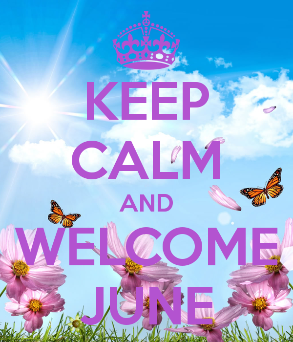 KEEP CALM AND JUNE KEEP CALM AND CARRY ON Image