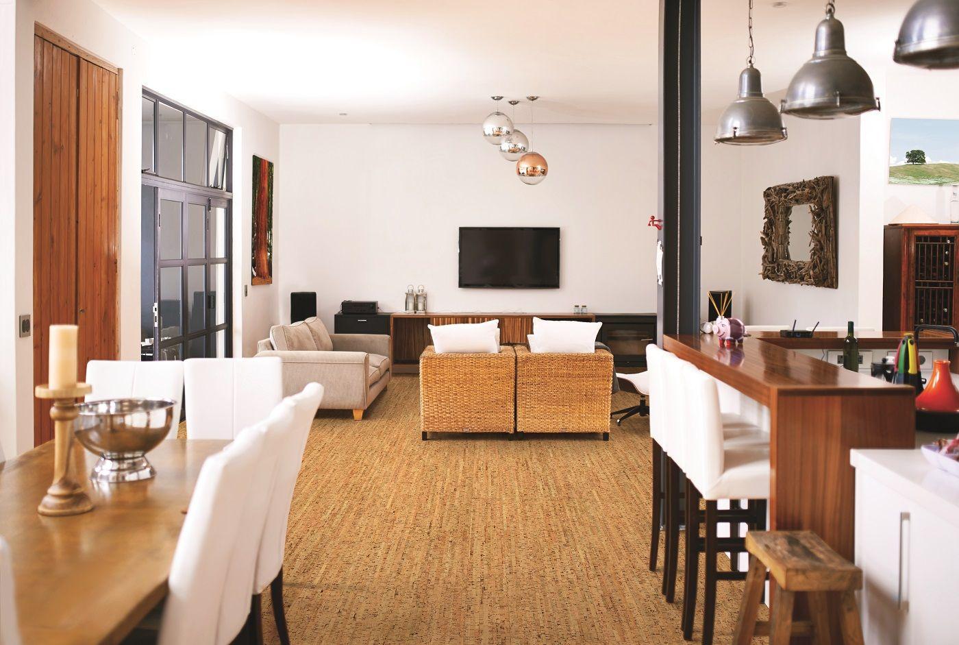 Room Cork Deco Flooring