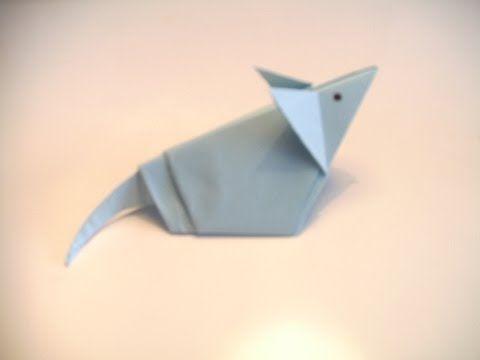 Origami-hiiri - Askartelu - Origamit