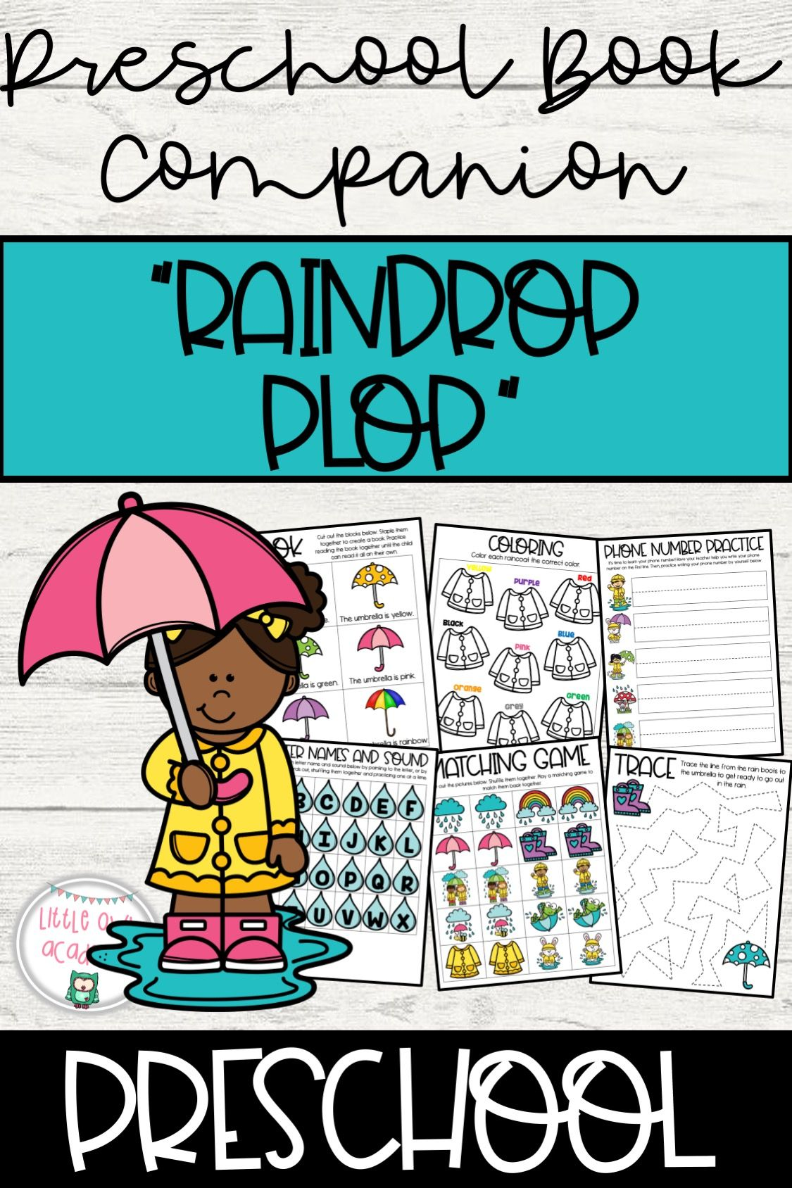 Raindrop Plop Book Companion