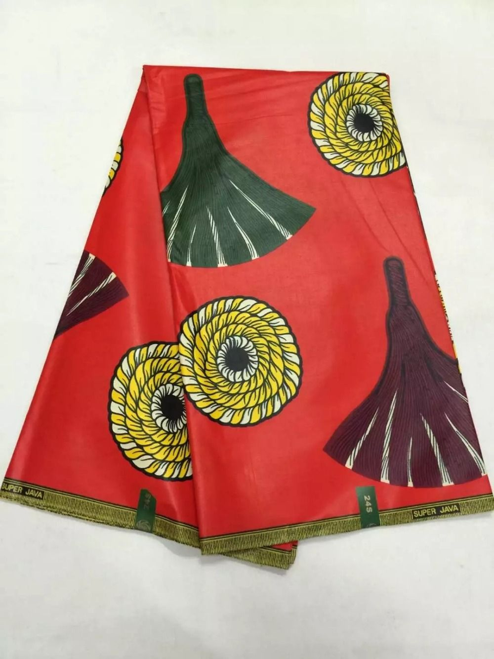 a5b9f17e9135 Waterproof African ankara wax fabric for Christmas wedding party bag or  clothing LS002