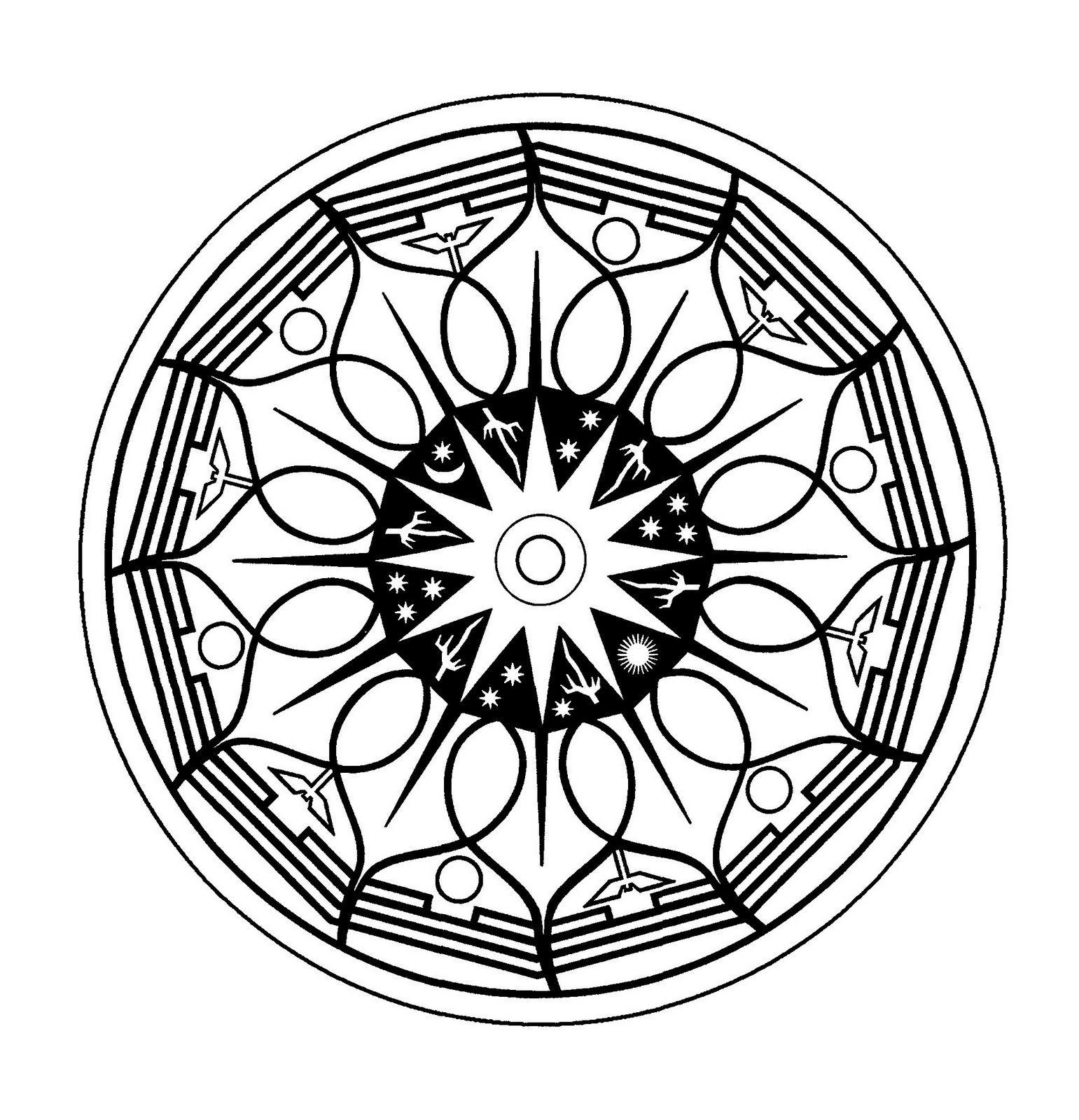 Mandalas Para Pintar: mandalas pintados | mandalas | Pinterest ...