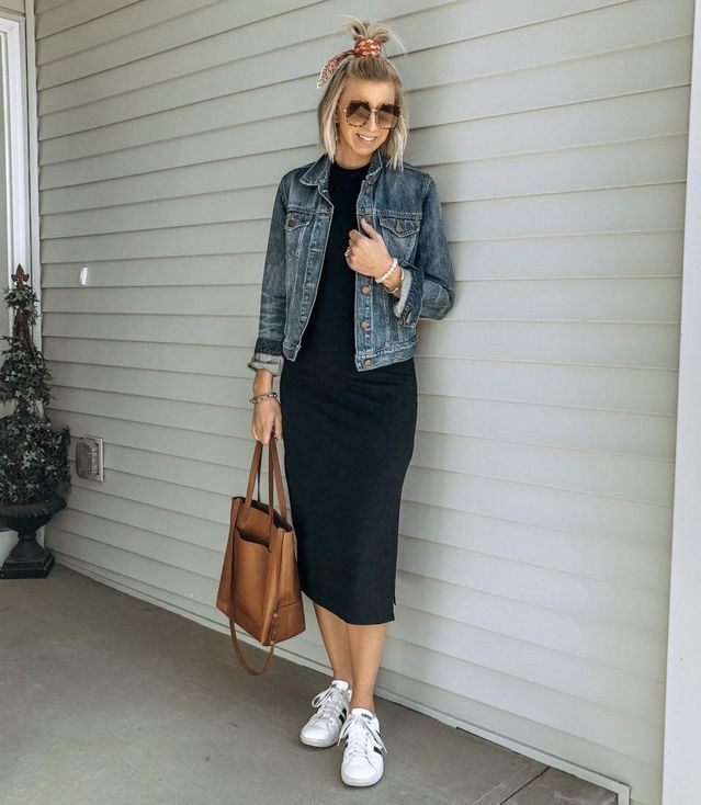 How to style your denim jacket |Denim jacket outfit ideas