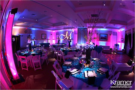 See How Much Lighting Can Change The Look Of A Venue Avila Lighthouse Suites Before