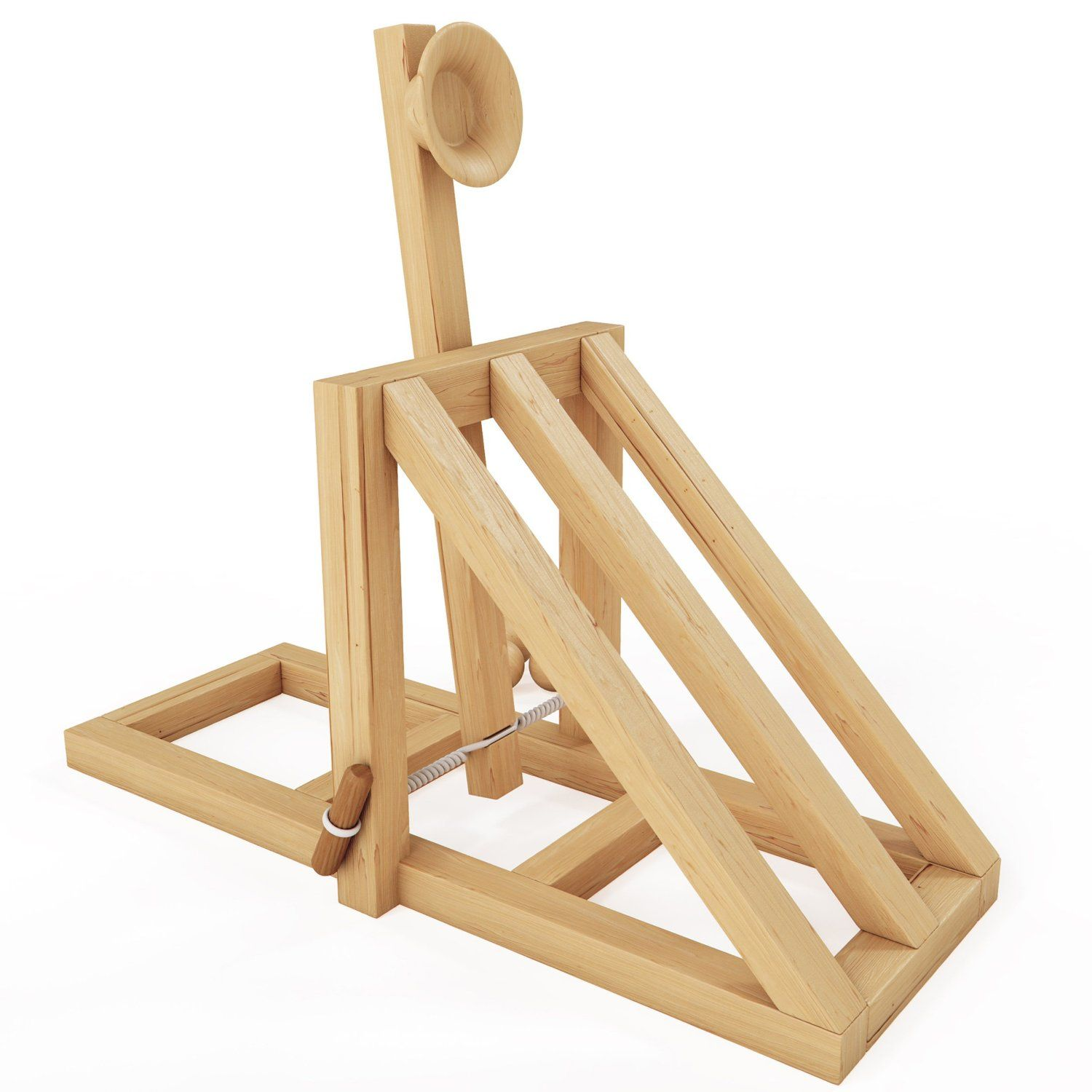 Mota catapult desktop battle kit mota juegos y juguetes wishlist de regalos for Catapult design plans for physics