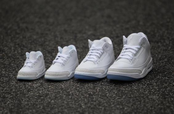 Be Will Triple Air White Jordan The 3 In Full Releasing A354cRLqj