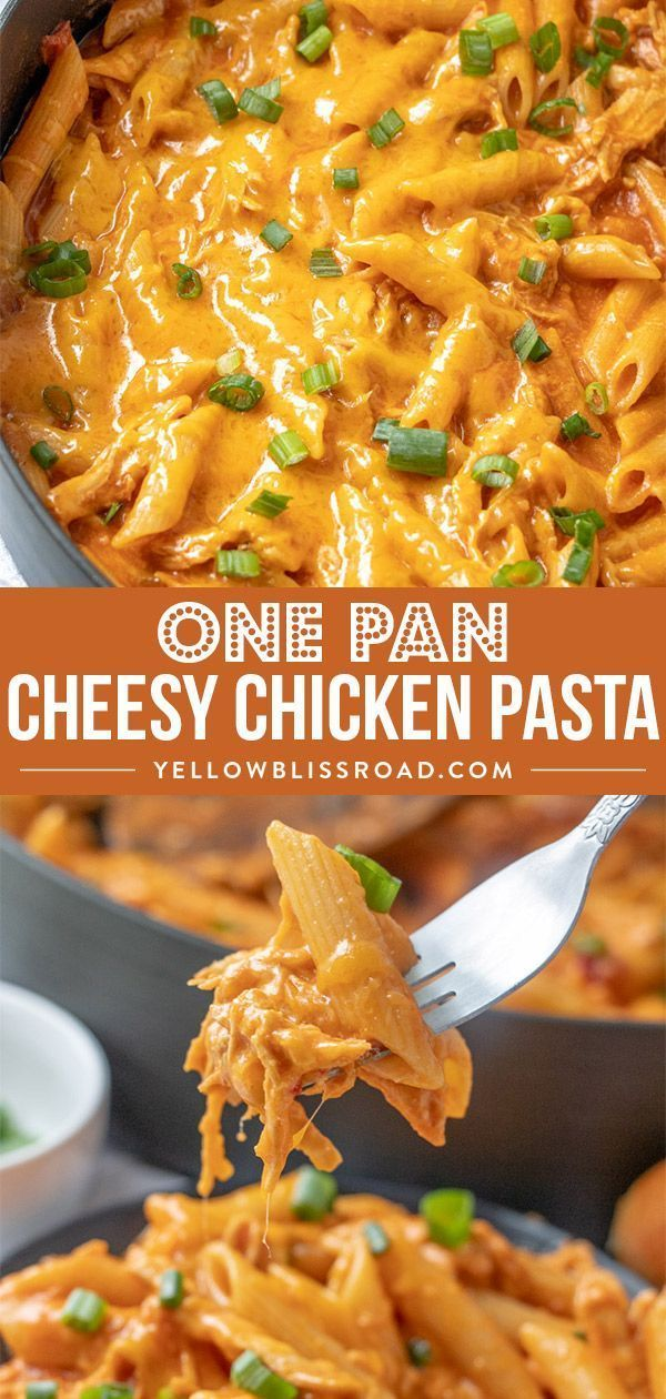 One Pot Cheesy Chicken Pasta images