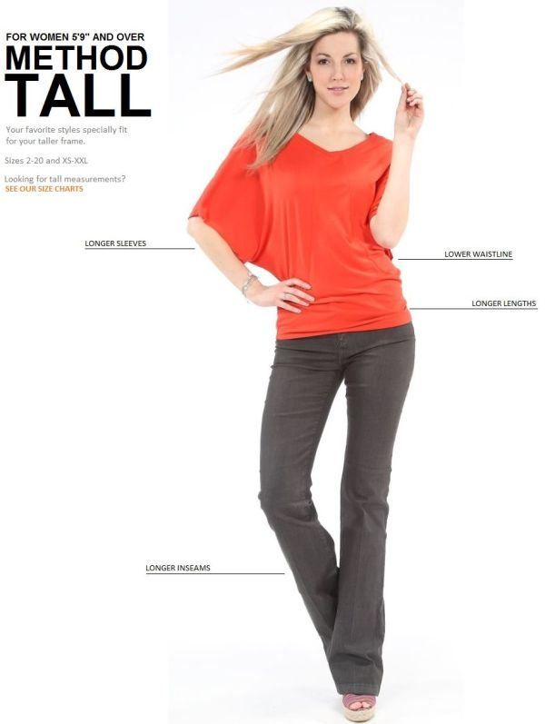Style Tips For Tall Women | Beautiful, Sleeve and Pants