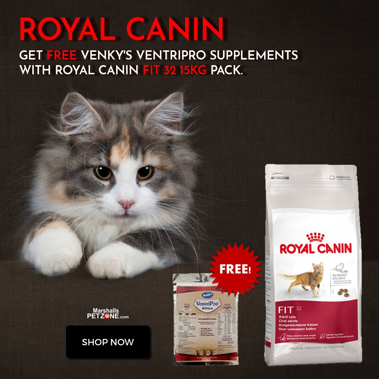 Royal Canin Fit 32 15kg Adult Cat Food At Lowest Price Weight 15 Kg Royal Canin Fitness Cats