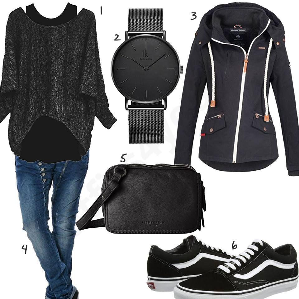 Fruhlinks Style Fur Damen Mit Vans Oldskool Outfits4you De What To Wear Today Cool Outfits Daily Fashion