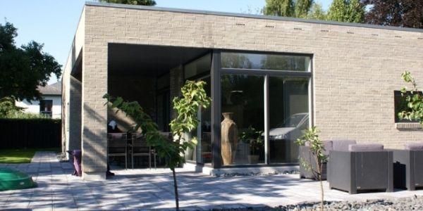 Overd kket terrasse p funkis hus house inspiration for Funkis house