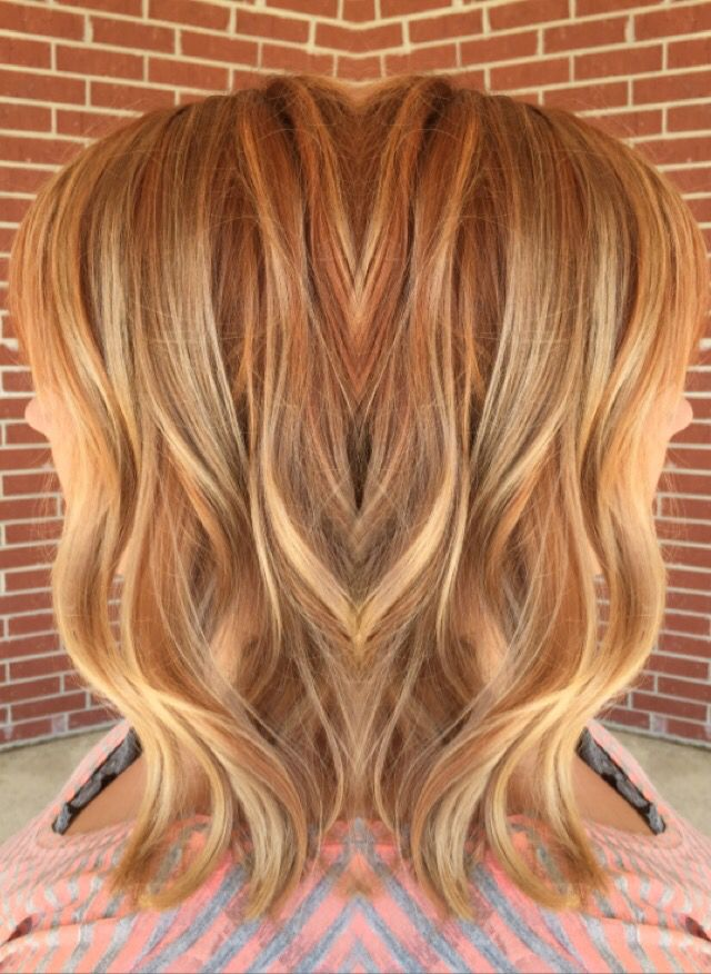 Copper Red Balayage Hair Pinterest Haar Frisur