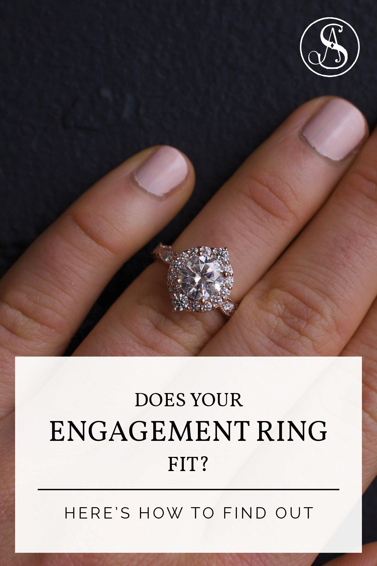 How Should Your Engagement Ring And Wedding Band Really Fit Engagement Rings Thick Gold Ring Trendy Engagement Rings