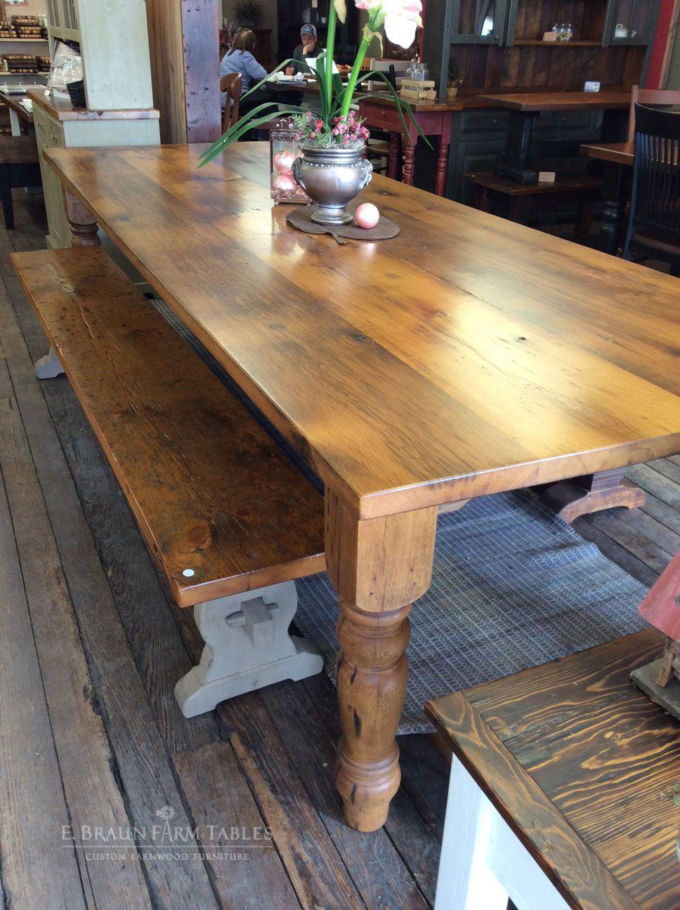 Long Oak Farm Table Farmhouse Table Plans Large Farmhouse Table Oak Farmhouse Table